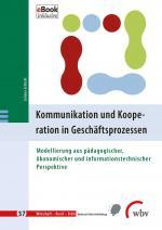 Cover-Bild Kommunikation und Kooperation in Geschäftsprozessen