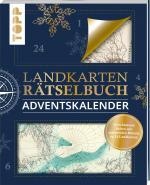 Cover-Bild Landkarten Rätselbuch Adventskalender
