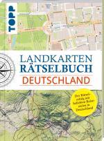 Cover-Bild Landkarten Rätselbuch - Deutschland