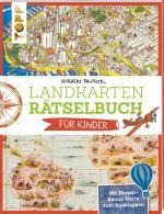 Cover-Bild Landkarten Rätselbuch für Kinder