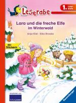 Cover-Bild Lara und die freche Elfe im Winterwald - Leserabe 1. Klasse - Erstlesebuch für Kinder ab 6 Jahren