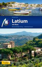 Cover-Bild Latium mit Rom Reiseführer Michael Müller Verlag