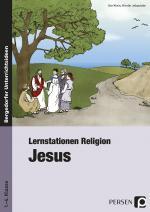 Cover-Bild Lernstationen Religion: Jesus