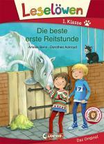 Cover-Bild Leselöwen 1. Klasse - Die beste erste Reitstunde