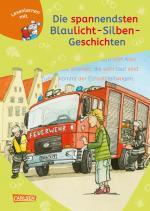 Cover-Bild LESEMAUS zum Lesenlernen Sammelbände: Die spannendsten Blaulicht-Silben-Geschichten