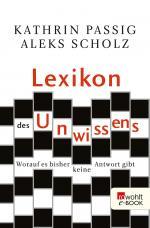 Cover-Bild Lexikon des Unwissens