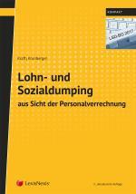 Cover-Bild Lohn- und Sozialdumping aus Sicht der Personalverrechnung