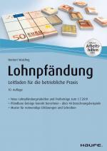 Cover-Bild Lohnpfändung - inkl. Arbeitshilfen online