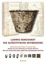Cover-Bild Ludwig Borchardt: Die altägyptische Zeitmessung.