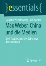 Cover-Bild Max Weber, China und die Medien