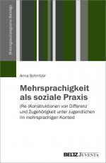 Cover-Bild Mehrsprachigkeit als soziale Praxis