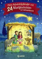 Cover-Bild Mein Adventskalender mit 24 Bibelgeschichten zur Weihnachtszeit