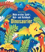 Cover-Bild Mein erstes Spiel-, Mal- und Ratebuch: Dinosaurier