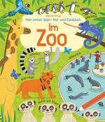 Cover-Bild Mein erstes Spiel-, Mal- und Ratebuch: Im Zoo