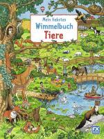 Cover-Bild Mein liebstes Wimmelbuch Tiere