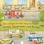 Cover-Bild Mein lustiger Schieber-Spaß. Laster, Feuerwehr und Polizei