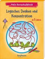 Cover-Bild Mein Vorschulblock - Logisches Denken und Konzentration
