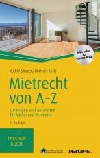 Cover-Bild Mietrecht von A-Z