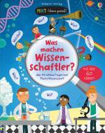 Cover-Bild MINT - Wissen gewinnt! Was machen Wissenschaftler?