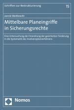 Cover-Bild Mittelbare Planeingriffe in Sicherungsrechte