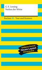 Cover-Bild Nathan der Weise. Textausgabe mit Kommentar und Materialien