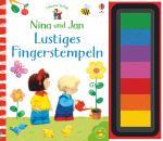 Cover-Bild Nina und Jan - Lustiges Fingerstempeln