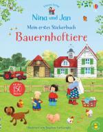 Cover-Bild Nina und Jan - Mein erstes Stickerbuch: Bauernhoftiere