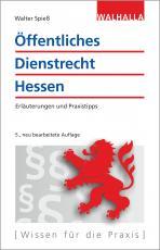 Cover-Bild Öffentliches Dienstrecht Hessen