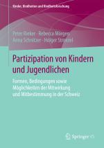 Cover-Bild Partizipation von Kindern und Jugendlichen