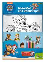 Cover-Bild PAW Patrol: Mein Mal- und Stickerspaß