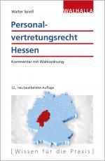 Cover-Bild Personalvertretungsrecht Hessen