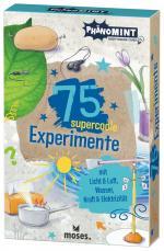 Cover-Bild PhänoMINT 75 supercoole Experimente mit Licht & Luft, Wasser, Kraft & Elektrizität