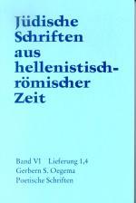 Cover-Bild Poetische Schriften