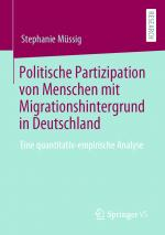 Cover-Bild Politische Partizipation von Menschen mit Migrationshintergrund in Deutschland