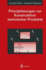 Cover-Bild Prinziplösungen zur Konstruktion technischer Produkte