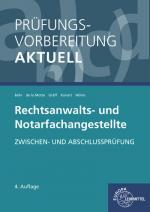 Cover-Bild Prüfungsvorbereitung aktuell - Rechtsanwalts- und Notarfachangestellte