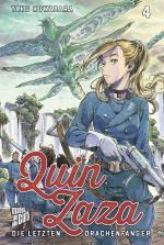 Cover-Bild Quin Zaza - Die letzten Drachenfänger 4