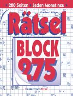 Cover-Bild Rätselblock 275