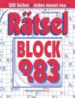 Cover-Bild Rätselblock 283 (5 Exemplare à 2,99 €)