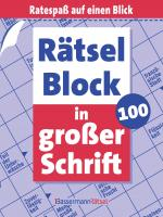 Cover-Bild Rätselblock in großer Schrift 100 (5 Exemplare à 2,99 €)