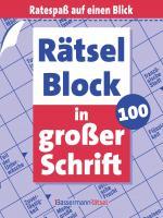 Cover-Bild Rätselblock in großer Schrift 100