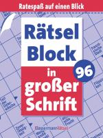 Cover-Bild Rätselblock in großer Schrift 96