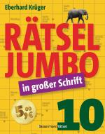 Cover-Bild Rätseljumbo in großer Schrift 10