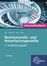 Cover-Bild Rechtsanwalts- und Notarfachangestellte, Informationsband