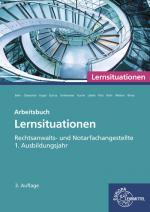 Cover-Bild Rechtsanwalts- und Notarfachangestellte, Lernsituationen 1. Ausbildungsjahr