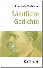 Cover-Bild Sämtliche Gedichte