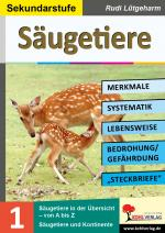 Cover-Bild Säugetiere - Merkmale, Lebensraum, Systematik