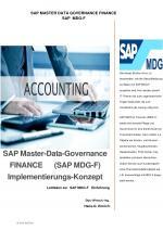 Cover-Bild SAP Master-Data-Governance FINANCE (SAP MDG-F) Implementierungs-Konzept
