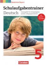 Cover-Bild Schulaufgabentrainer mit Lösungen - 5. Jahrgangsstufe