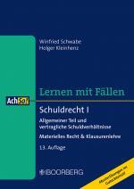 Cover-Bild Schuldrecht I